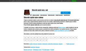 Slovnik-cizich-slov.net thumbnail