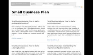 Small-business-plan.info thumbnail