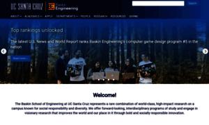 Soe.ucsc.edu thumbnail