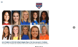 Softball.teamusa.org thumbnail