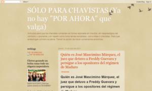 Soloparachavistas.blogspot.com thumbnail