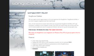 Songscreen.com thumbnail
