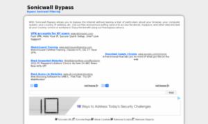Sonicwallbypass.info thumbnail