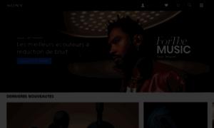 Sony.fr thumbnail