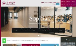 Sophia.ac.jp thumbnail