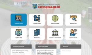 Sorongkab.go.id thumbnail