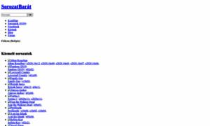 sorozatbarat.online - Sorozatok online. Magyarország legnagyobb online sorozat adatbázisa - SorozatBarát