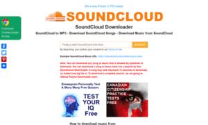 Soundclouddownloader.org thumbnail