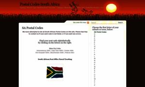 Southafricanpostalcodes.co.za thumbnail