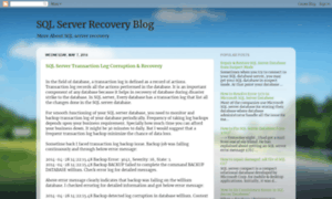 Backup log simple recovery