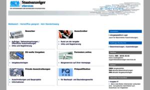 Staatsanzeiger-eservices.de thumbnail