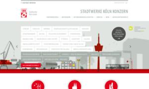 Stadtwerkekoeln.de thumbnail