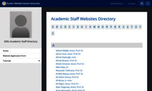 Staff.emu.edu.tr thumbnail