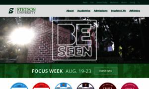 Stetson.edu thumbnail