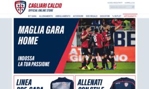 Store.cagliaricalcio.net thumbnail