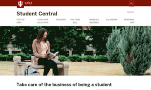 Studentcentral.iupui.edu thumbnail