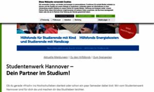 Studentenwerk-hannover.de thumbnail