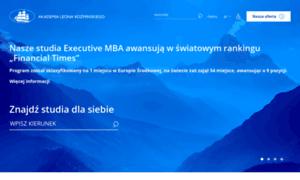 Studiapodyplomowe.kozminski.edu.pl thumbnail