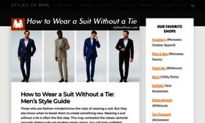 Stylesofman.com thumbnail