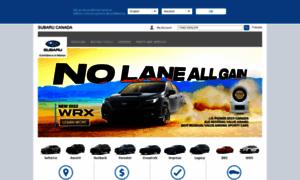 Subaru.ca thumbnail