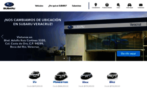 Subaru.com.mx thumbnail