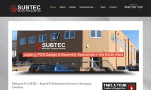 Subtec.co.uk thumbnail