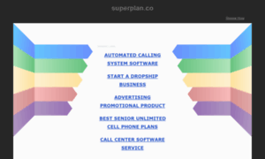 Superplan.co thumbnail