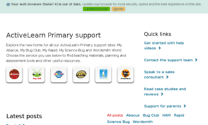 Activelearnprimary.co.uk whois history records - Easy Counter