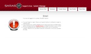 sarunasoftware support area