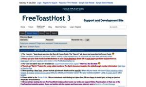 Support.toastmastersclubs.org thumbnail