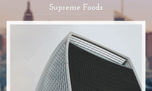 Supremefoods.com.pk thumbnail