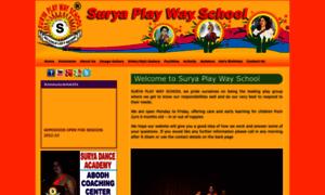 Suryaplaywayschool.in thumbnail