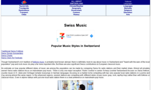 Swiss-music.all-about-switzerland.info thumbnail