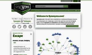 Synonyms.net thumbnail