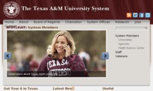 System.tamus.edu thumbnail
