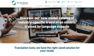 Systran.co.uk thumbnail