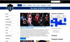 Tallinnakalev.ee thumbnail