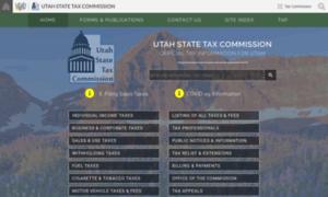 Tax.utah.gov thumbnail