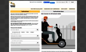 taxifarefinder estimate your taxi. Black Bedroom Furniture Sets. Home Design Ideas