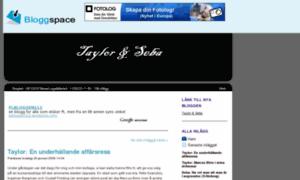 Taylorandseba.bloggspace.se thumbnail