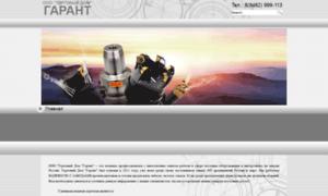 Tdgarant.net thumbnail