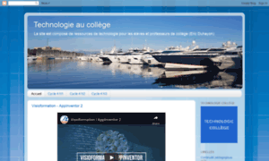 Technologieaucollege.free.fr thumbnail