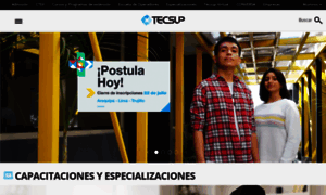 Tecsup.edu.pe thumbnail
