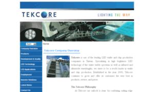 Tekcore.com.tw thumbnail