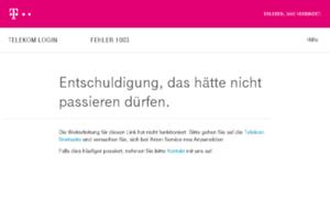 Telefoniecenter.t-online.de thumbnail