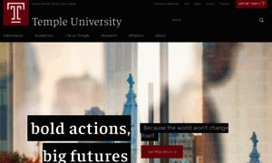 Temple.edu thumbnail