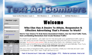 Textadbombers.info thumbnail