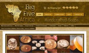 Thebigfiveafrica.co.za thumbnail