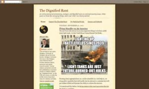 Thedignifiedrant.blogspot.com thumbnail