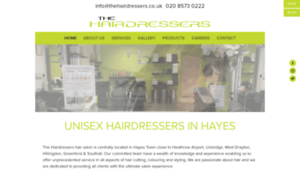 Thehairdressers.rocketspark.co.uk thumbnail